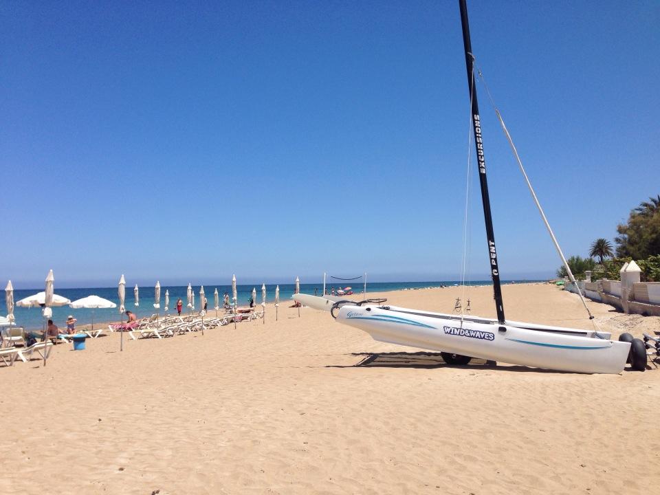 The Beach in Denia