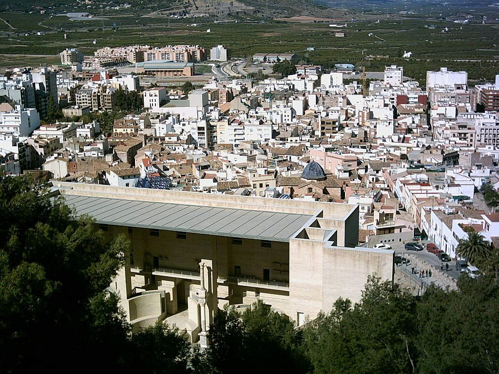 Sagunto Old Town From The Castle
