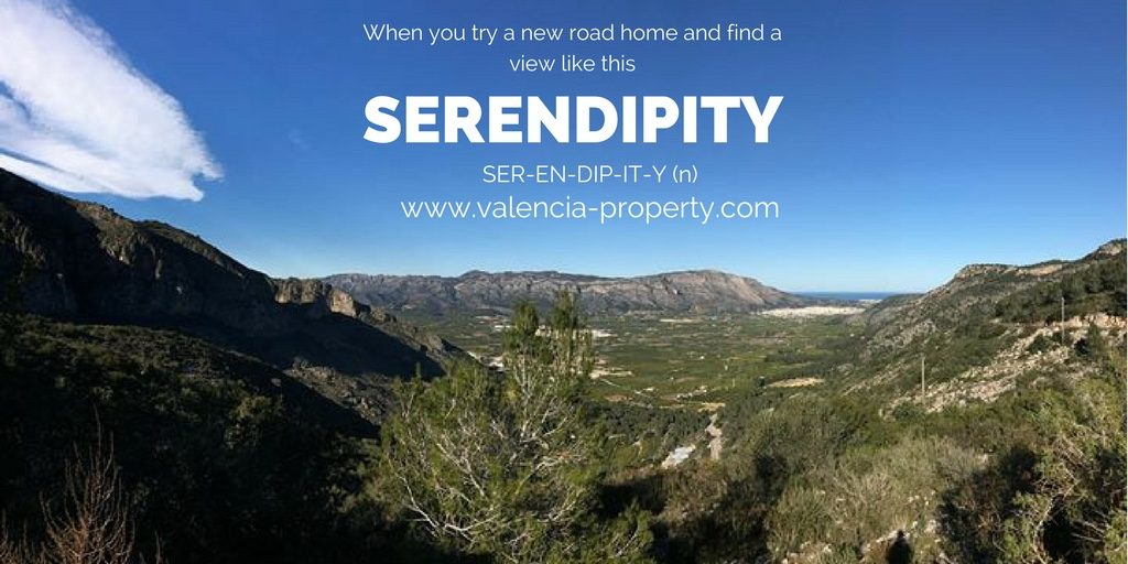 Serendipity in Valencia
