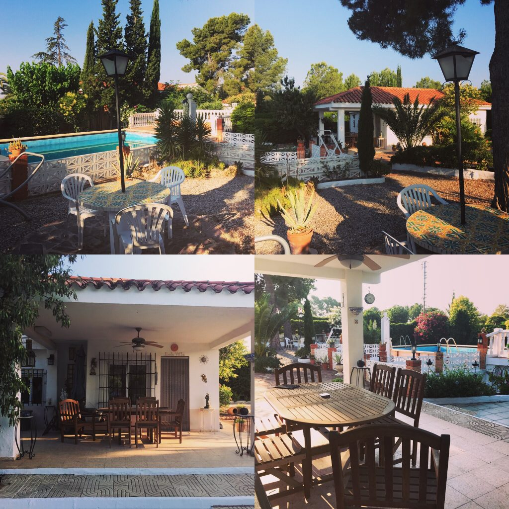 Sun and shade at this property in Olocau for just 98,000 Euros