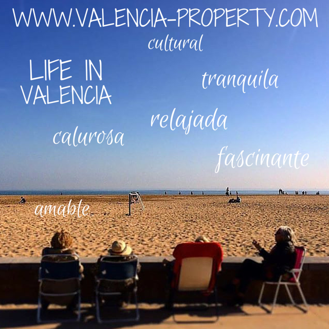 The Patacona Beach in Valencia is a Popular Place To meet Up And Shoot the Breeze