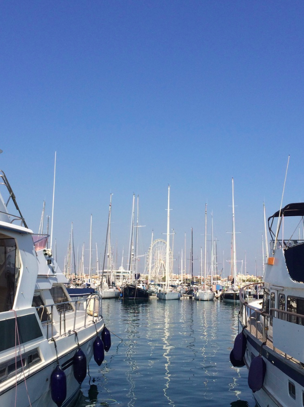 The Marina Real in Valencia Was Developed For The America's Cup