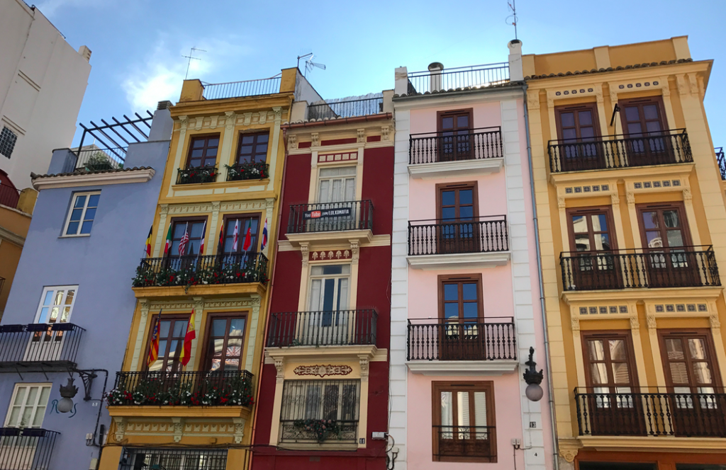 Most Valencia Apartments Don't Have Terraces. Many Have Balconies Though Traditionally used To Smoke On. Keep an Eye Out For Them