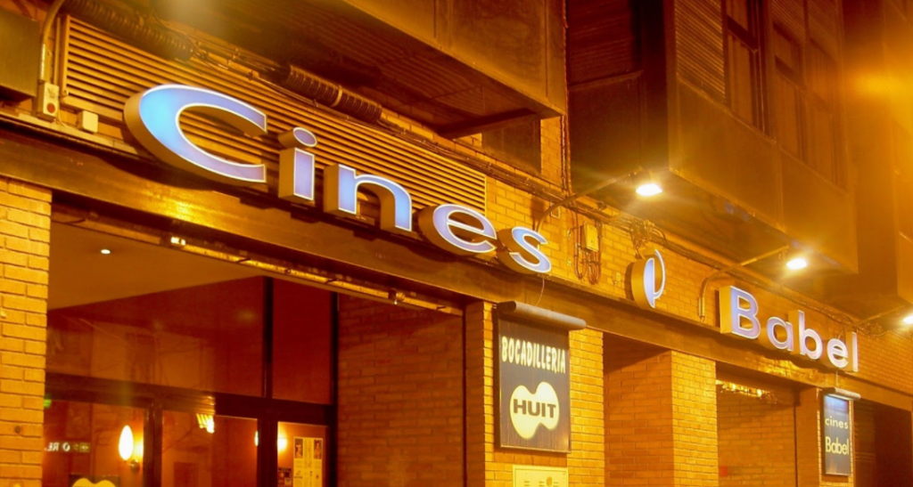 The Arthouse Cinema Near Avenida Aragon is just one of the cinemas showing VO films in Valencia