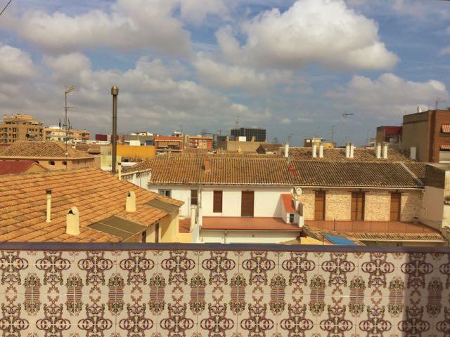 Terrace Views From Open House in Benimamet