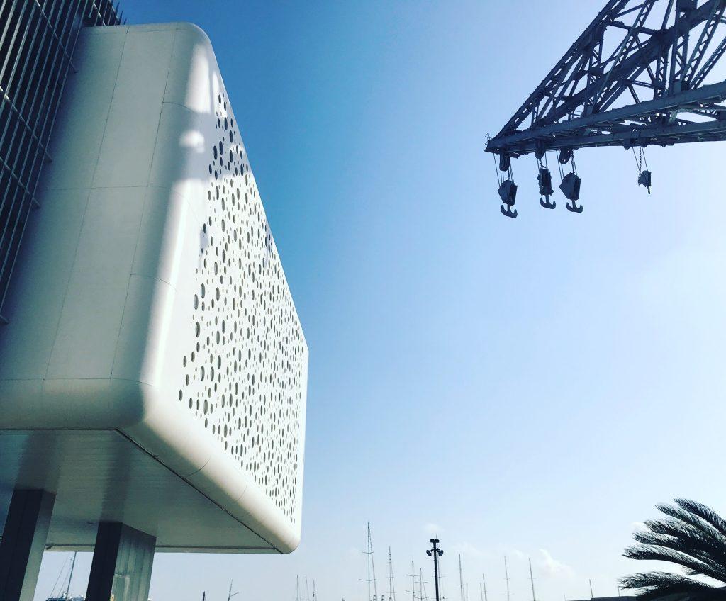 Architecture and a #ValenciaBlue