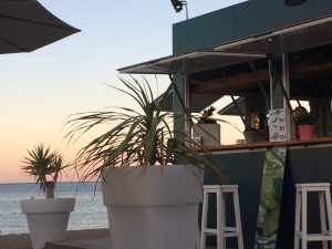 beach bar denia