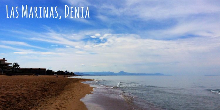 Las Marinas beaches, Denia Costa Blanca