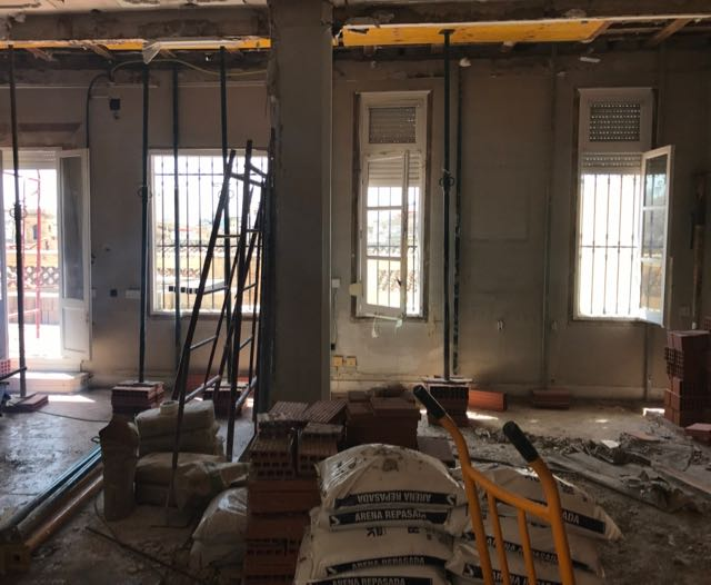 Calle Palau With Work Started on the Modernisation - 1