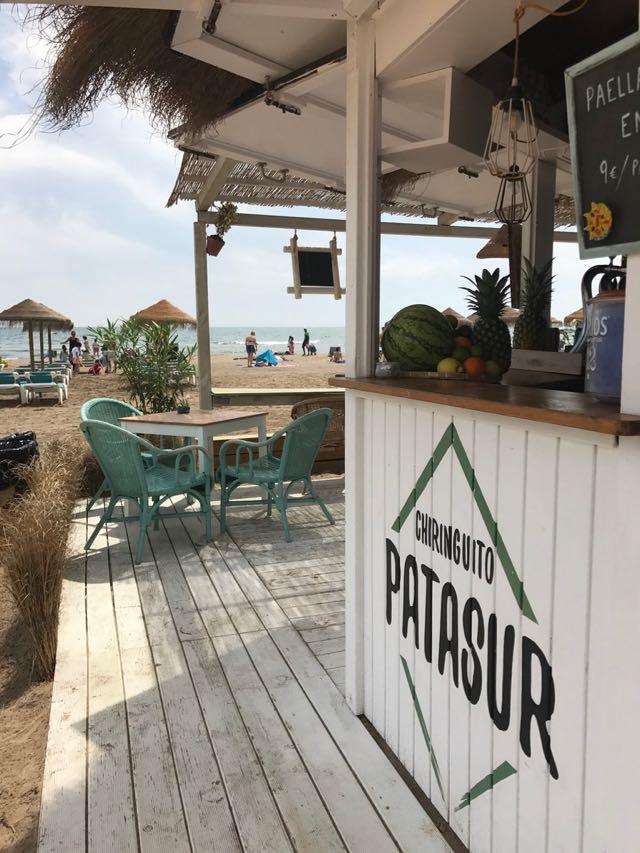 Patasur Beach Bar in Alboraya