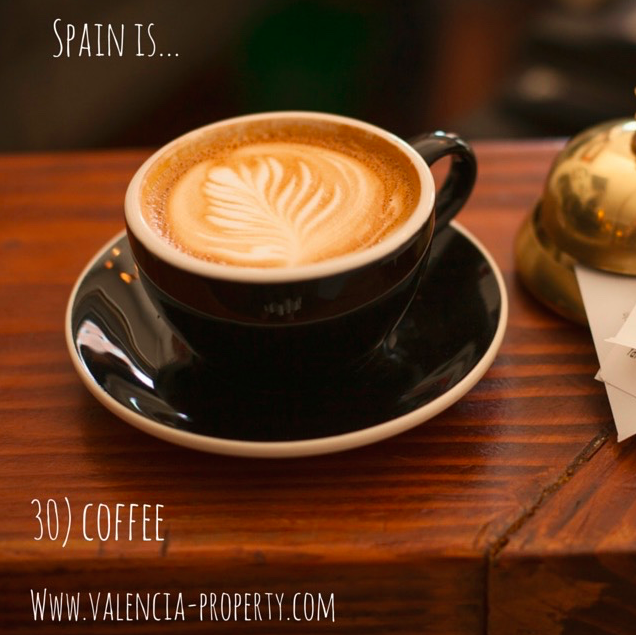 There is a Huge Choice of Coffee in Valencia