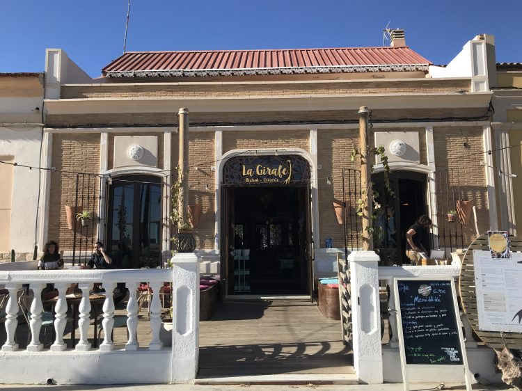 The Giraffe Restaurant is a recent arrival on the Patacona