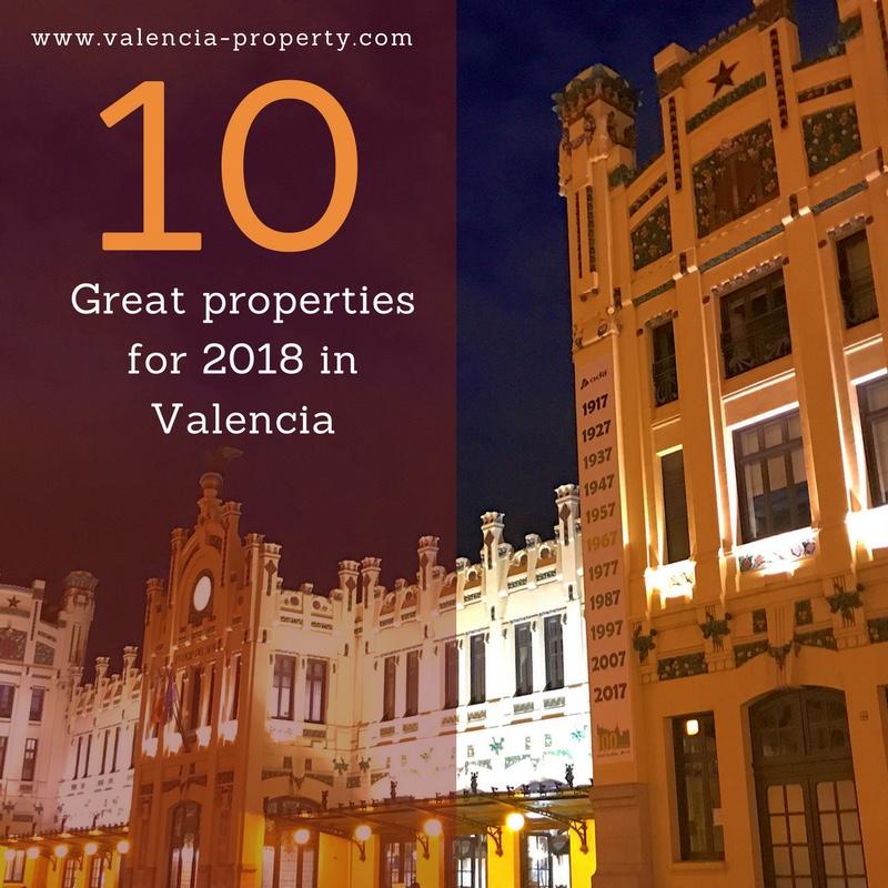 Ten great properties for 2018 in Valencia