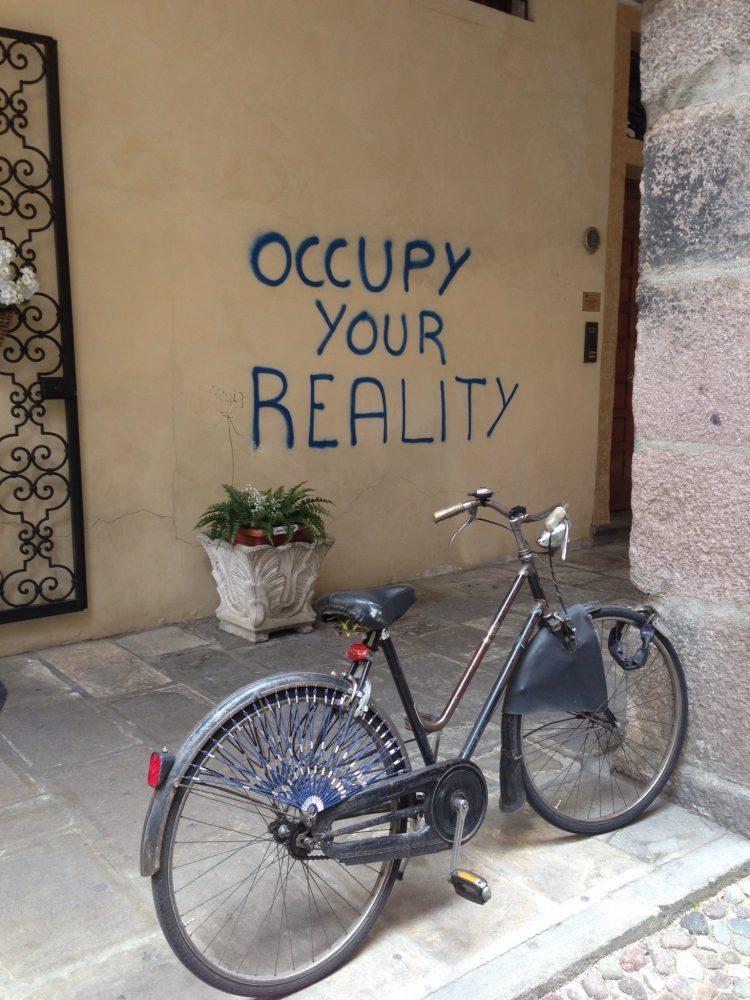 Accept and Occupy the Reality of the Market