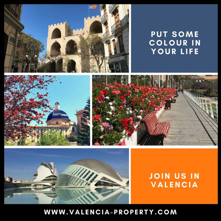 brighten up your life by moving to Valencia