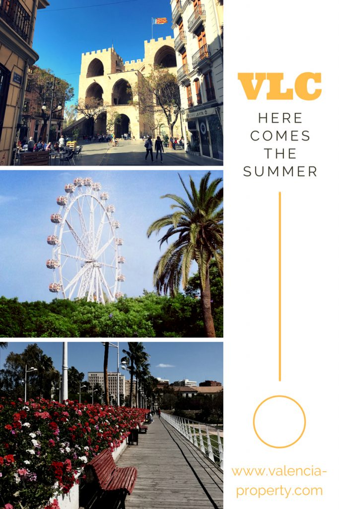here comes the summer in Valencia 2018