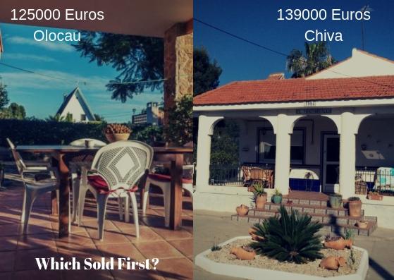 Which Sold First Olocau vs Chiva
