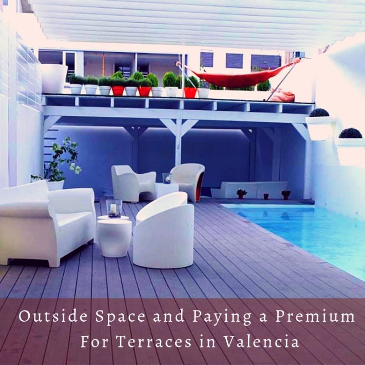 Paying a Premium For Your Outside Space in Valencia
