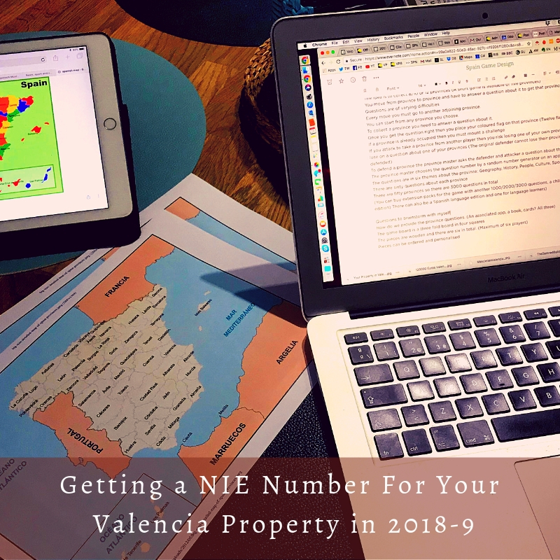 Getting a NIE Number to buy property in Valencia