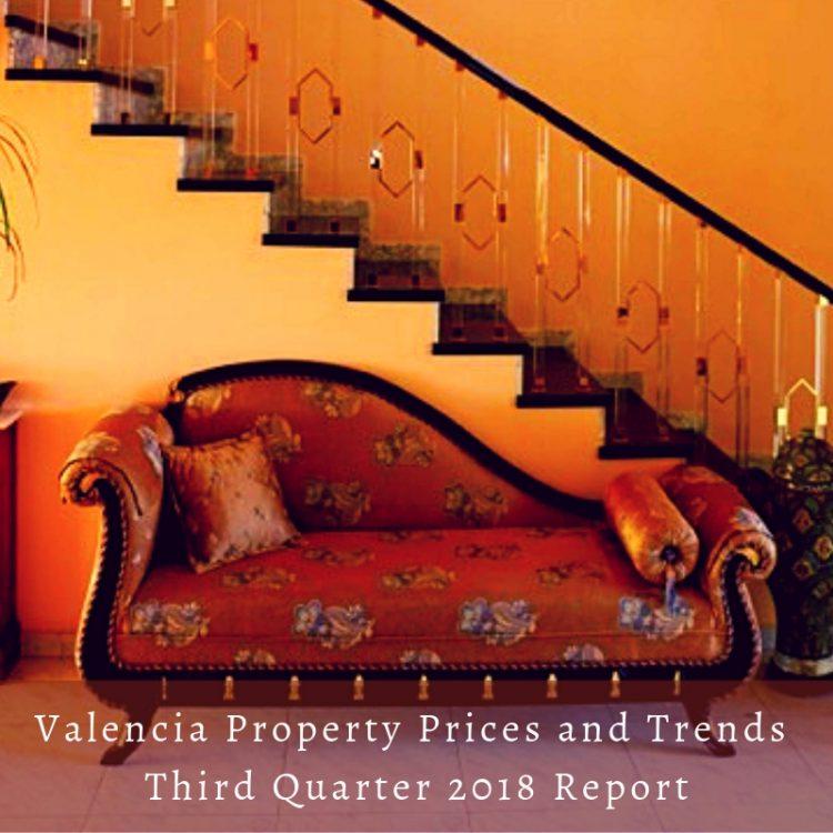 Valencia Property Prices Third Quarter Report 2018