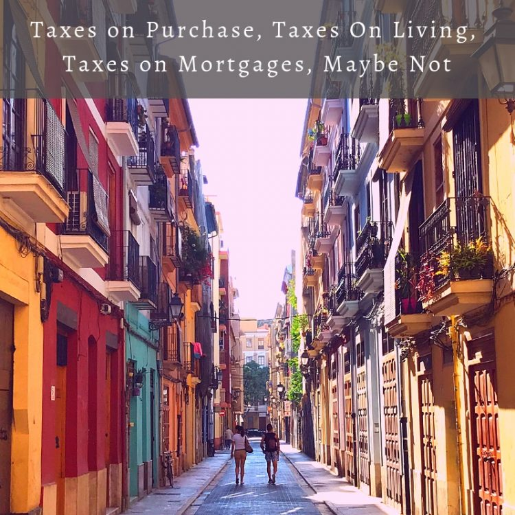 Taxes on Property in Spain