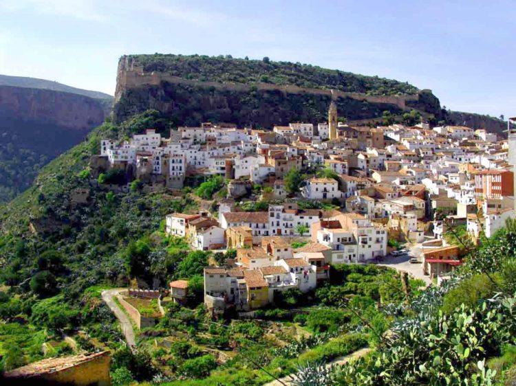 Chulilla Village in the Valencia Region