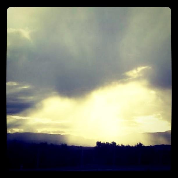 Sunset in Chulilla