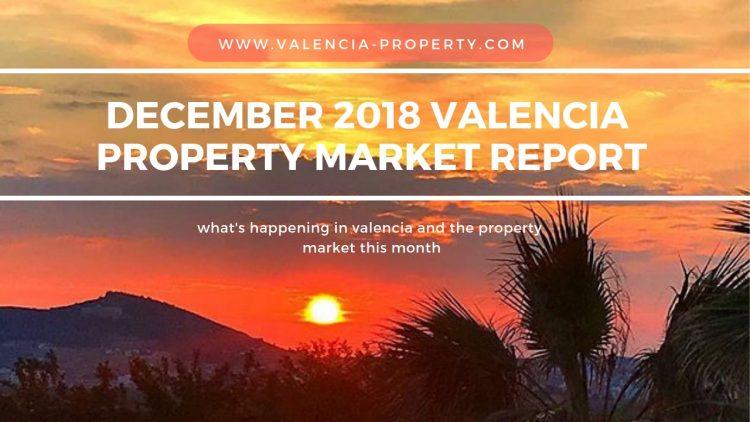 December 2018 Valencia Property market report