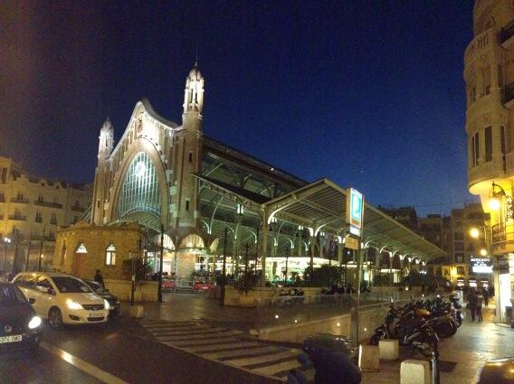 Colon Market in Valencia (Colón is Columbus in Spanish not what you thought it was)