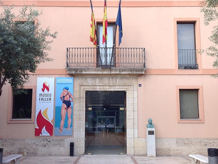 Fallas Museum Entrance in Monteolivete
