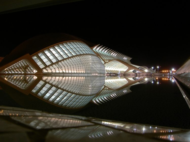 City of Arts and Sciences by Night