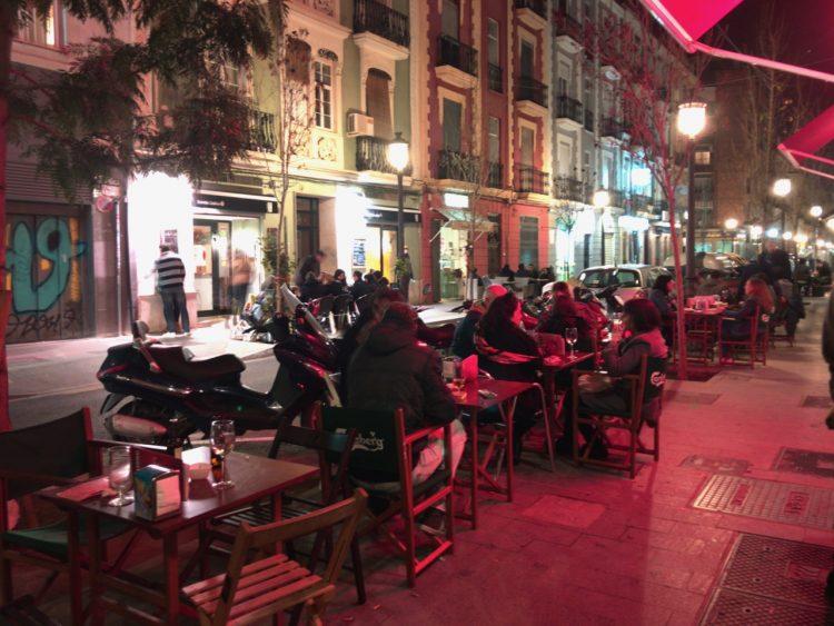 Cafe Society in Ruzafa