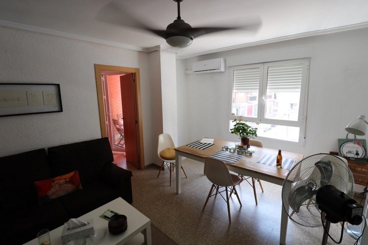 Short term beach rental property in Valencia