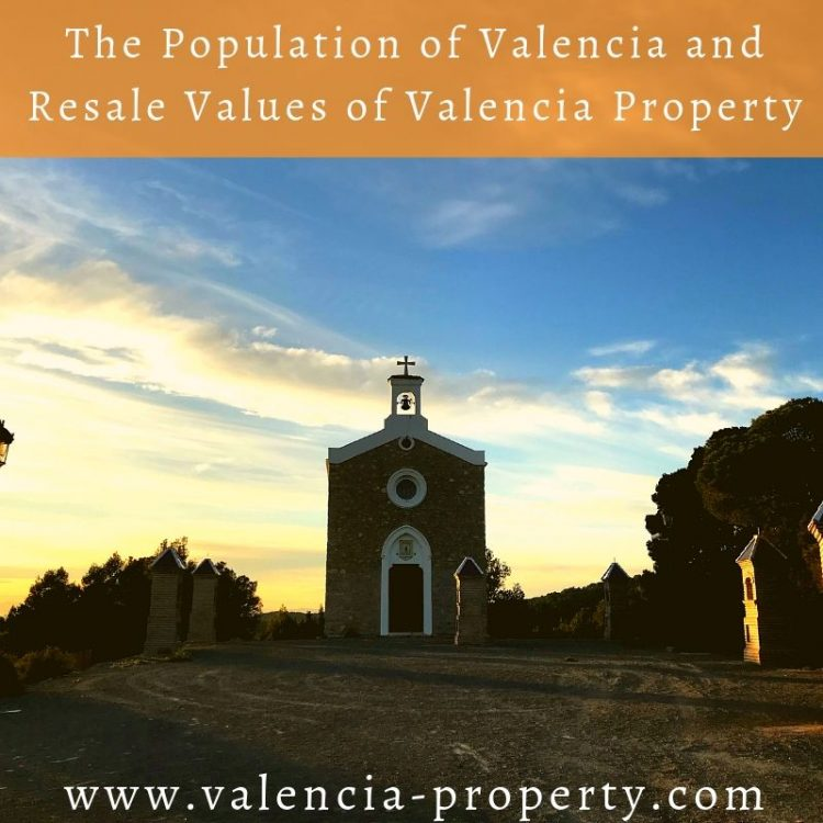 The Population of Valencia and Resale Values of Valencia Property