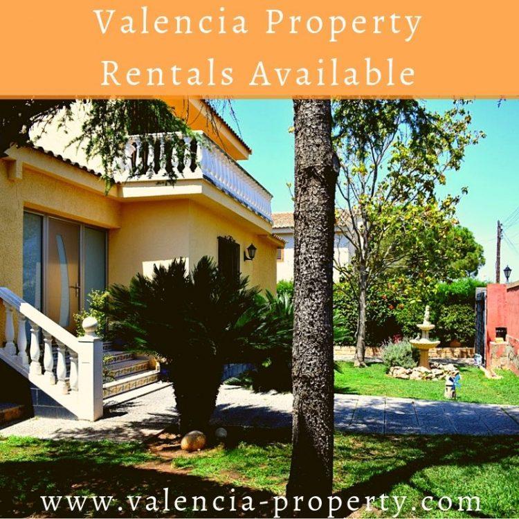Valencia Property Rentals Available
