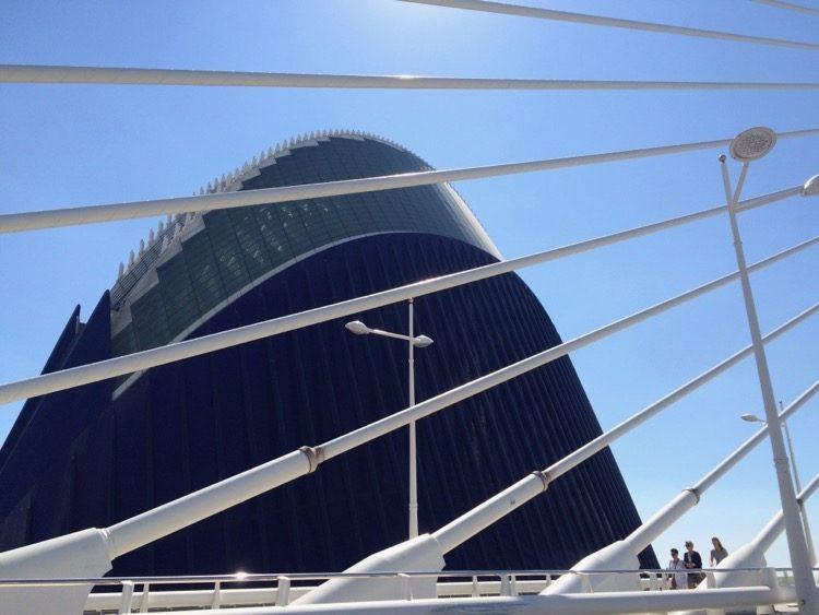 The Agora Building and Assut D'Or Bridge