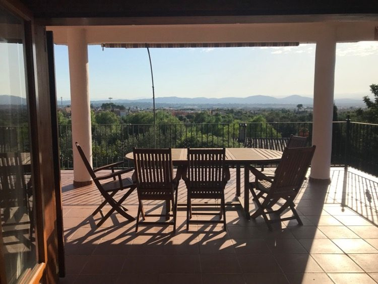 Views over the Turia Valley in La Pobla De Vallbona