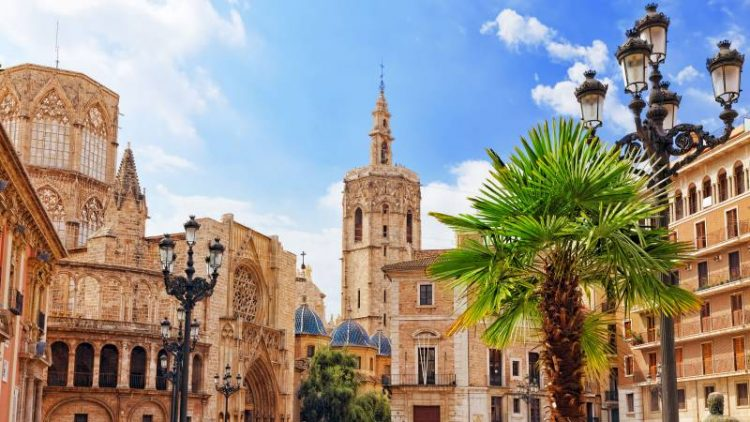 The Micalet Tower in Valencia