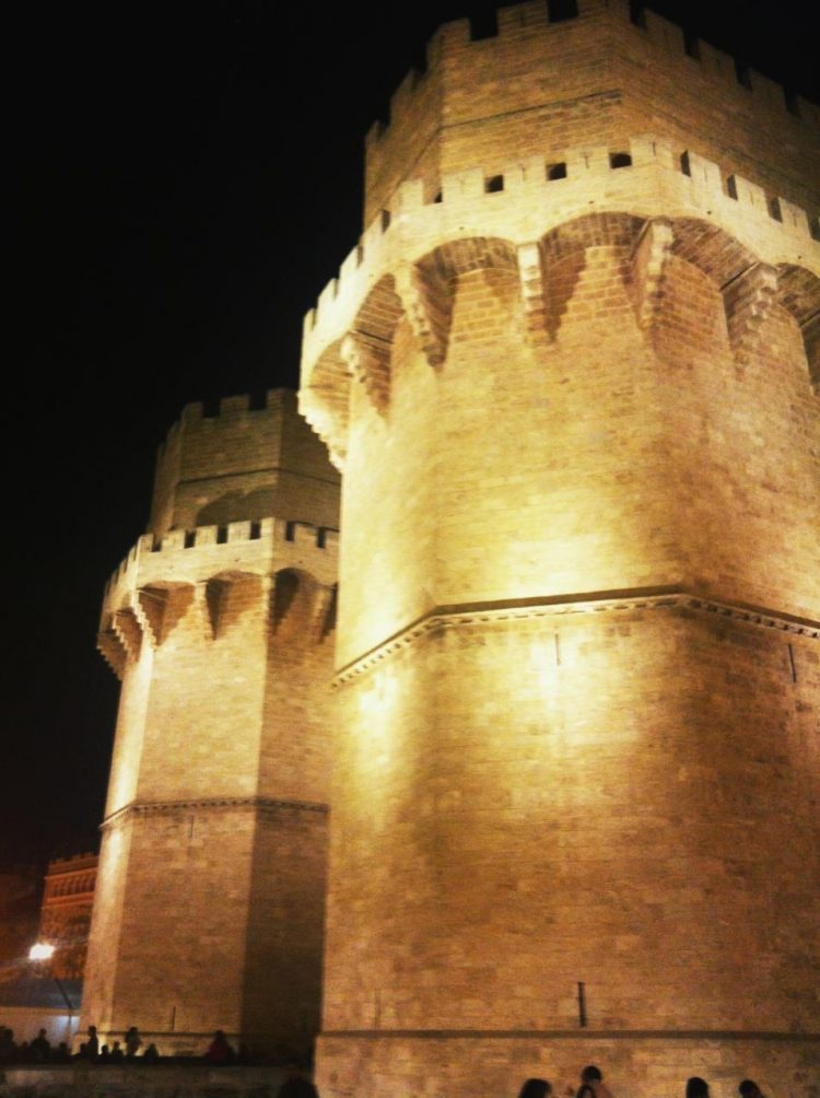 Torres Serranos in Valencia