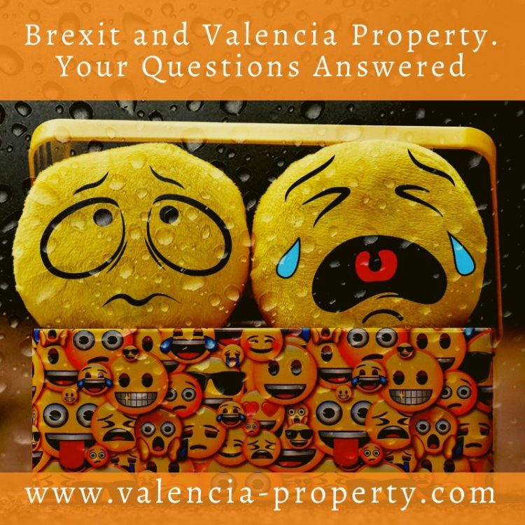 Brexit and Valencia Property. Your Questions Answered