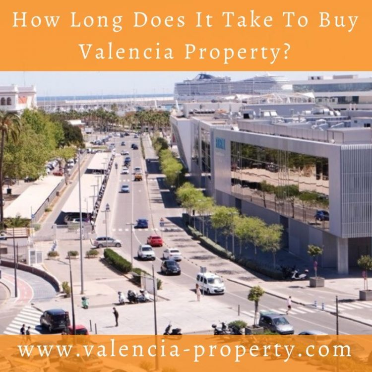How Long Does it Take to Buy Your Valencia Property