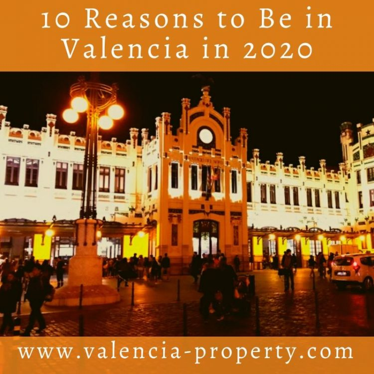 Ten Reasons To Be In Valencia in 2020