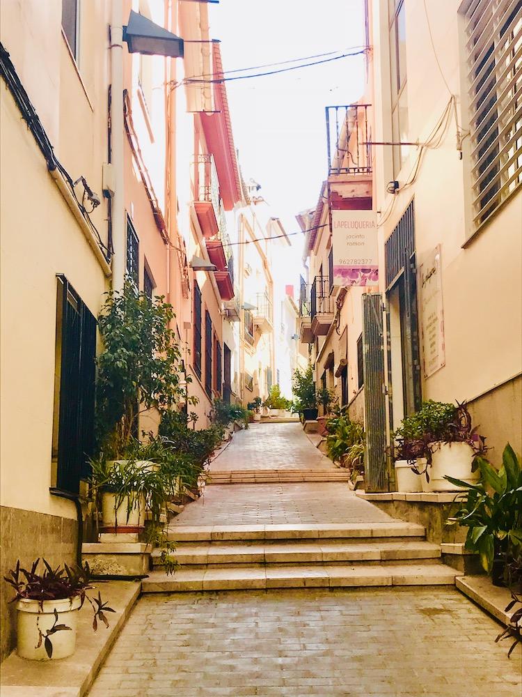 A Colourful Lliria Street
