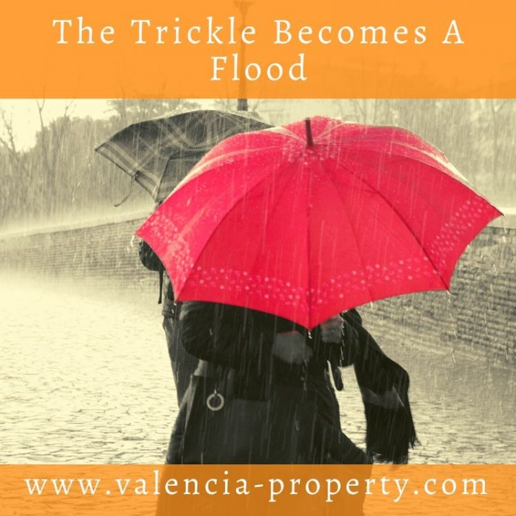 The Trickle Becomes a Flood