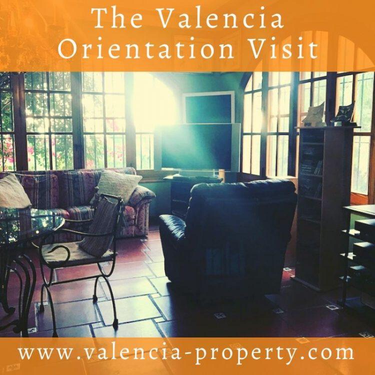The Valencia Orientation Visit