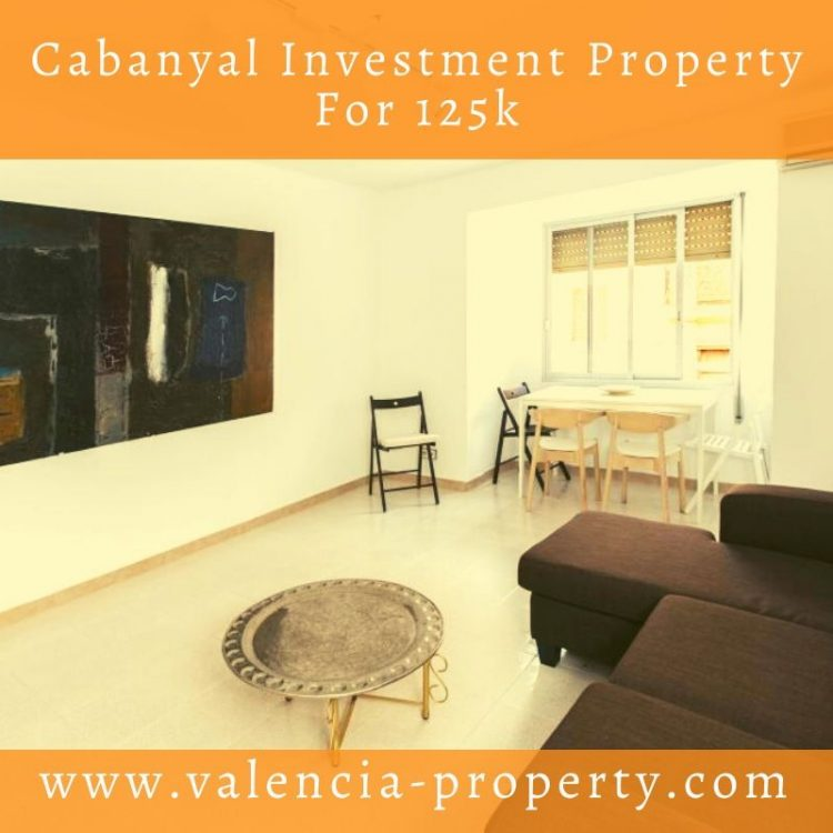 Cabanyal Investment Property For 125k