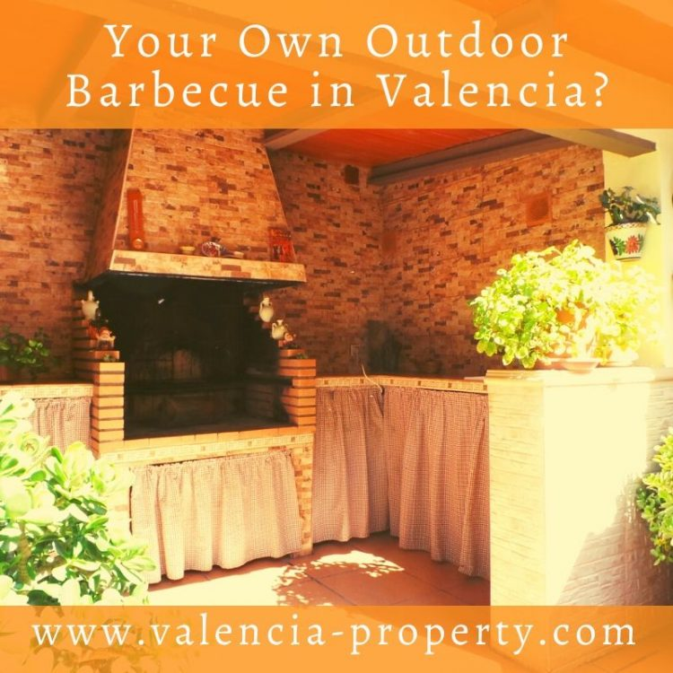 Your own outdoor barbecue in Valencia