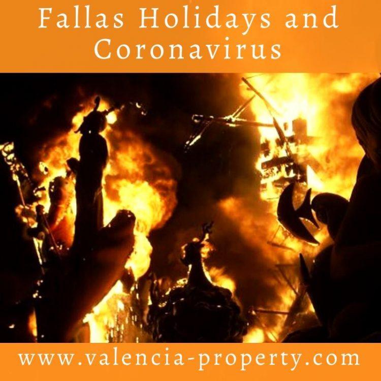Fallas Holidays and Coronavirus