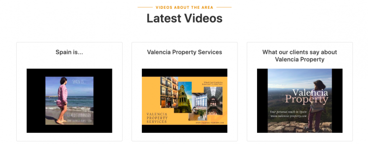 Latest Videos From Valencia Property