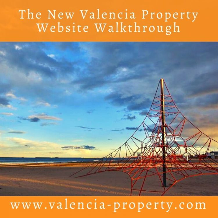 The New Valencia Property Website Walkthrough
